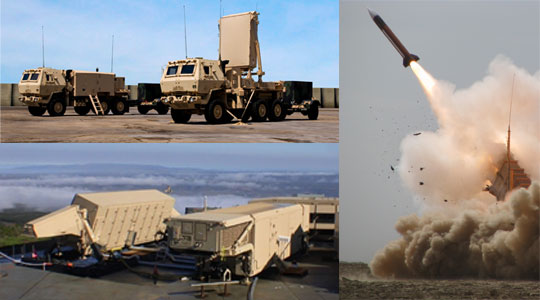 Missile Defense & Radar collage