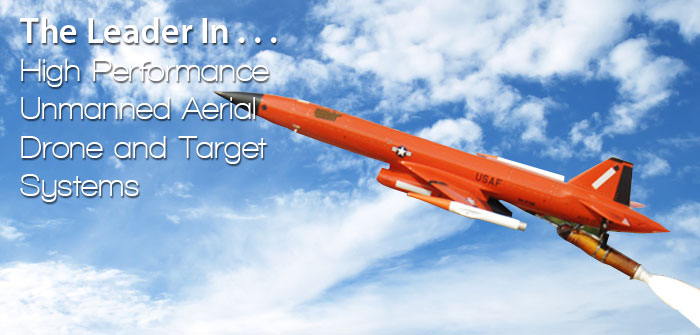 High Performance Unmanned Aerial Drone and Target Systems