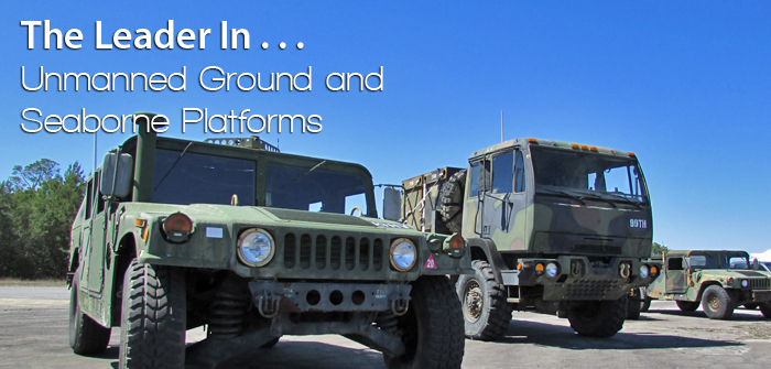 Unmanned Ground and Seaborne Platform C3 Systems and Satellite C2 Systems