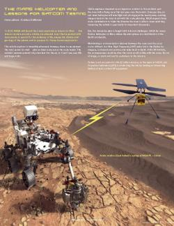 Mars Rover and Lessons Learned for SATCOM Testing