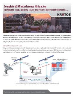 Fact Sheet - Complete VSAT Interference Mitigation