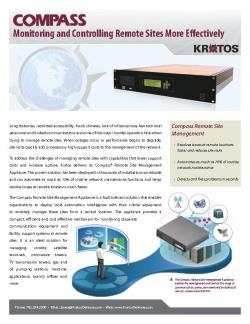 Fact Sheet - Compass Remote Site Management