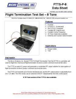 Flight Termination Test Set