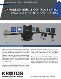 Unmanned Vehicle Control System