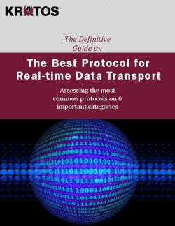 The Best Protocol for Real-time Data Transport